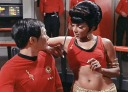 Sulu & Uhura in the Mirror Universe